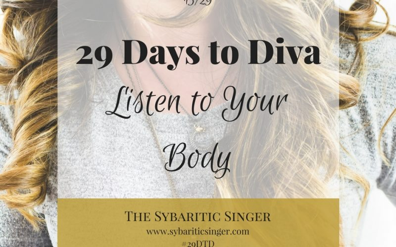29 Days to Diva | #29DTD | Singers with GERD | Sybaritic Singer | www.sybariticsinger.com
